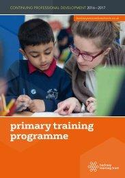primary training programme
