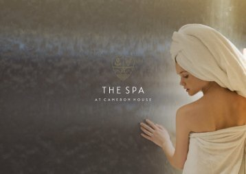 The Spa at Cameron House Brochure