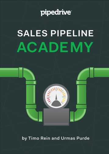 Sales Pipeline Academy ebook by Pipedrive