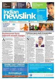 October 1, 2016 Indian Newslink Digital Edition