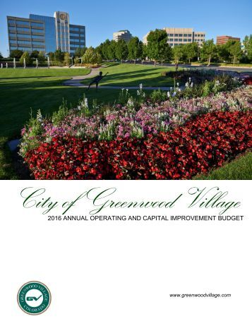Adopted 2016 Annual Operating- Capital Improvement Budget