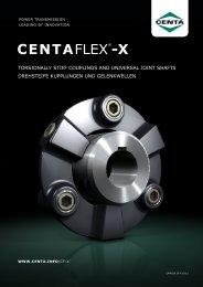 CENTAFLEX®-X - CENTA Antriebe Kirschey GmbH