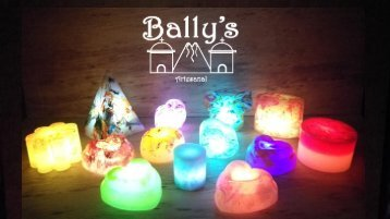 Catálogo velas led