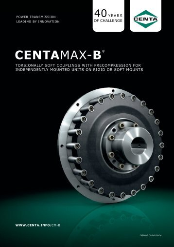 CENTAMAX-B® - CENTA Antriebe Kirschey GmbH