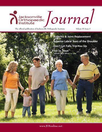 Volume 9 Issue I - Jacksonville Orthopaedic Institute
