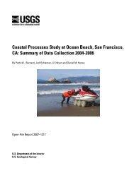 Coastal Processes Study at Ocean Beach, San Francisco, CA - USGS