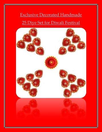 diya for diwali-puja-decoration