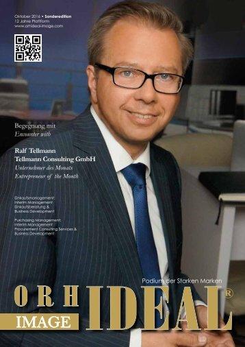 Orhideal IMAGE Magazin - Oktober 2016