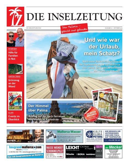 Die Inselzeitung Mallorca Oktober 2016