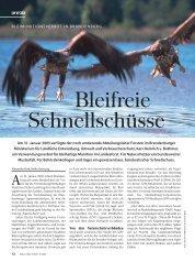 Ein Name schreibt Geschichte - Bleivergiftungen bei Seeadlern