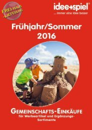 Frühjahr Sommer 2017 - Gemeinschaftseinkauf