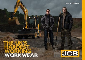 JCB Workwear Brochure 2016/17