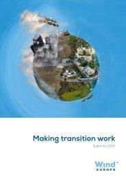 Making transition work - Wind Europe