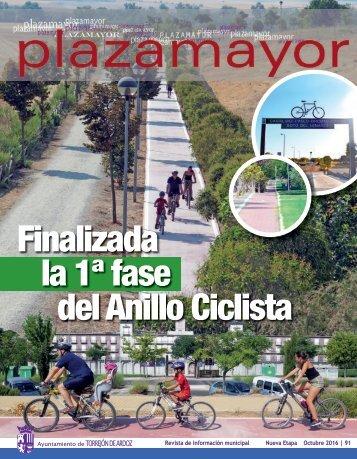 Finalizada la 1ª fase del Anillo Ciclista