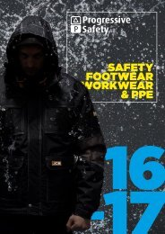 Progressive Safety Footwear, Workwear and PPE Catalogue 2016/17