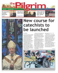 Issue 54 - The Pilgrim - October 2016 - The newspaper of the Archdiocese of Southwark