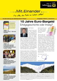 Kundenzeitung 1/2012 zum Download - Raiffeisen