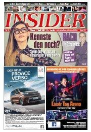 INSIDER Osnabrück // Oktober 2016 // No. 399