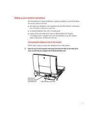 Apple Macintosh PowerBook Internal Modem/Ethernet - User's manual for Macintosh PowerBook G3 computers - Macintosh PowerBook  Internal Modem/Ethernet - User's manual for Macintosh PowerBook G3 computers