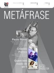 METÁFRASE - Revista on-line da ABRATES