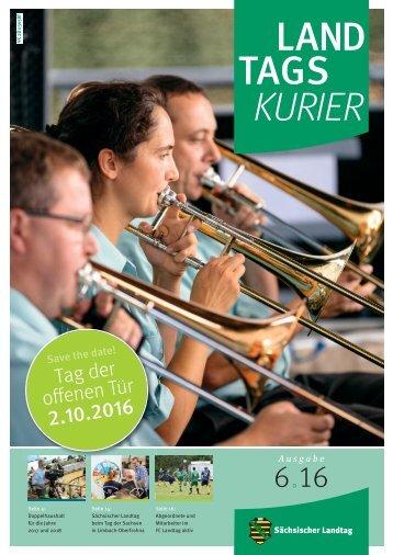 Landtagskurier, Ausgabe 6/2016