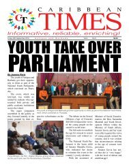 Caribbean Times 5th Issue - Friday 30th September 2016