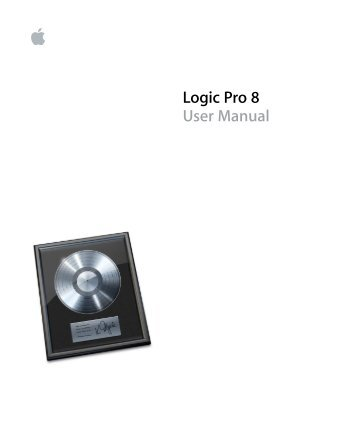 logic pro 8 control surfaces support support apple rh yumpu com Logic Pro 7 Logic Pro 7