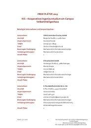 Kooperatives Ingenieurstudium am Campus Velbert/Heiligenhaus