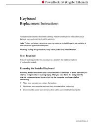 Apple PowerBook G4 (Gigabit Ethernet) - Keyboard - Replacement Instructions - PowerBook G4 (Gigabit Ethernet) - Keyboard - Replacement Instructions