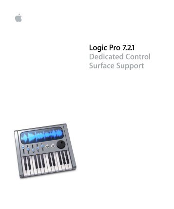 logic pro 8 control surfaces support support apple rh yumpu com Logic Express X Thread Logic Express X Thread