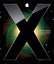 Apple Mac OS X Server v10.5 - Upgrading and Migrating - Mac OS X Server v10.5 - Upgrading and Migrating