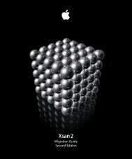 Apple Xsan 2 - Migration Guide - Xsan 2 - Migration Guide