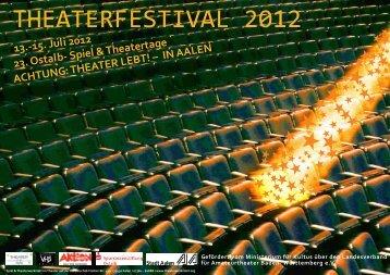 Plakat zum Theaterfestival 2012 als pdf download - Spiel ...