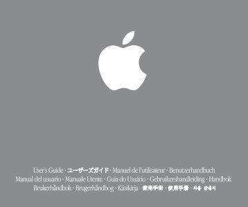 Apple iMac G4 Flat Panel 15-inch (Original) User's Guide (Manual) - iMac G4 Flat Panel 15-inch (Original) User's Guide (Manual)