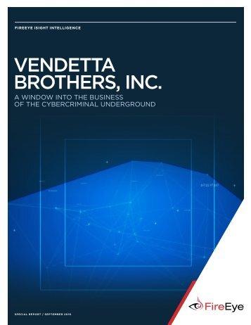 VENDETTA BROTHERS INC