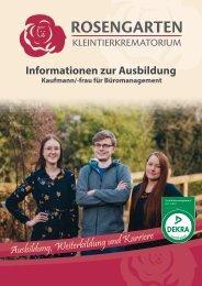 Information zu Ausbildung