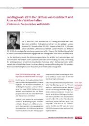 Landtagswahl 2011 - Statistisches Landesamt Rheinland-Pfalz