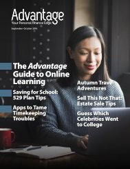 The Advantage Guide to Online Learning