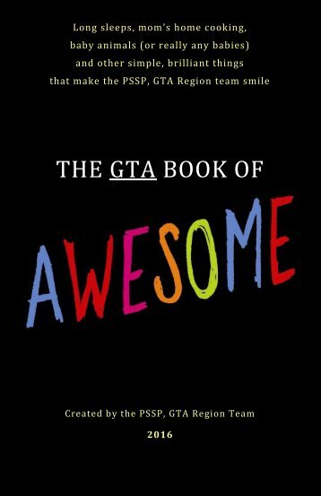 GTA Book of Awesome - FINAL