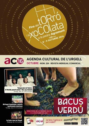 Agenda OCTUBRE 2016