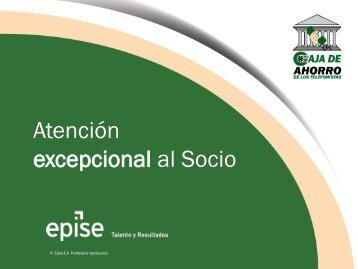 Apuntes_Atención excepcional al Socio