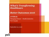 Better Outcomes 2016