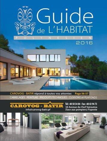 Guide de l'habitat 2016
