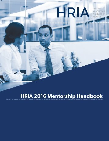 2016 Mentorship Program Handbook_web