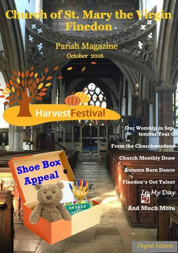 October 2016 Parish Magazine