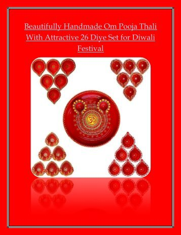 diyas for decoration