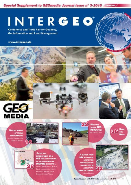 GEOmedia_3_2016 special issue for INTERGEO