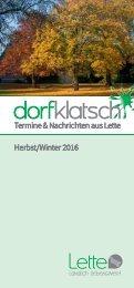 dorfklatsch - Herbst/Winter 2016
