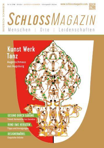 SchlossMagazin Bayerisch-Schwaben Oktober 2016