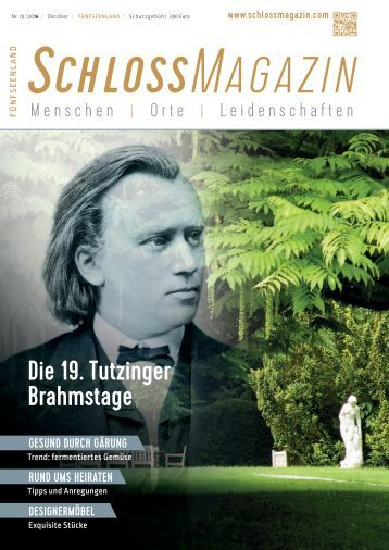 SchlossMagazin Fuenfseenland Oktober 2016